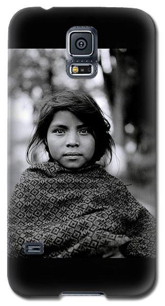Chiapas Girl Galaxy S5 Case