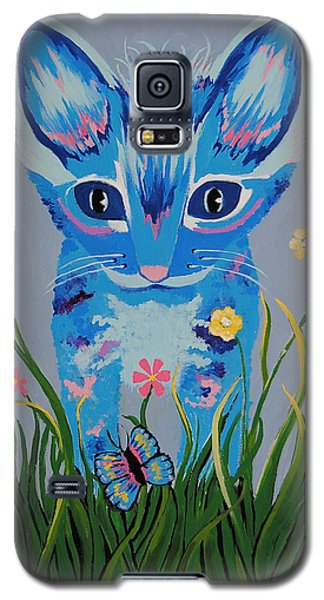 Galaxy S5 Case featuring the painting Chibi by Kathleen Sartoris