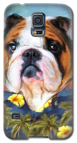 Chic English Bulldog Galaxy S5 Case