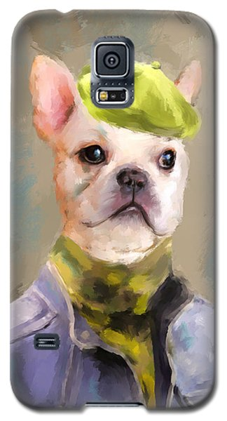 Chic French Bulldog Galaxy S5 Case