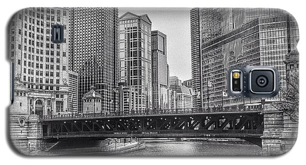 City Galaxy S5 Case - #chicago #blackandwhite #urban by Paul Velgos