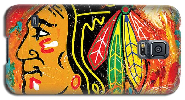 Chicago Blackhawks Logo Galaxy S5 Case
