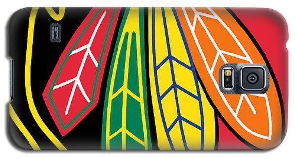 Chicago Blackhawks Galaxy S5 Case by Tony Rubino