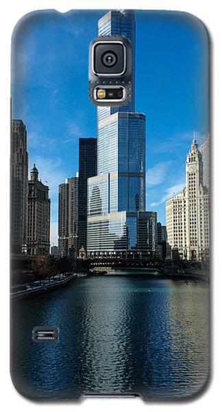 Galaxy S5 Case featuring the photograph Chicago Blues by Georgia Mizuleva