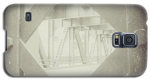 Architecture Galaxy S5 Case - Chicago Bridge Ironwork Vintage Photo by Paul Velgos