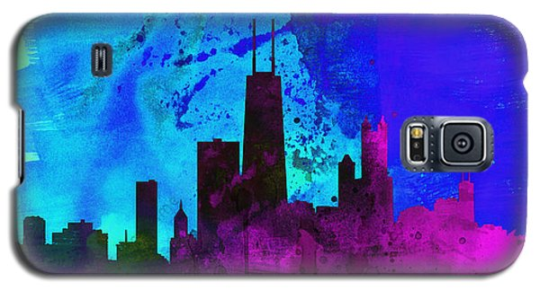 Chicago City Skyline Galaxy S5 Case by Naxart Studio