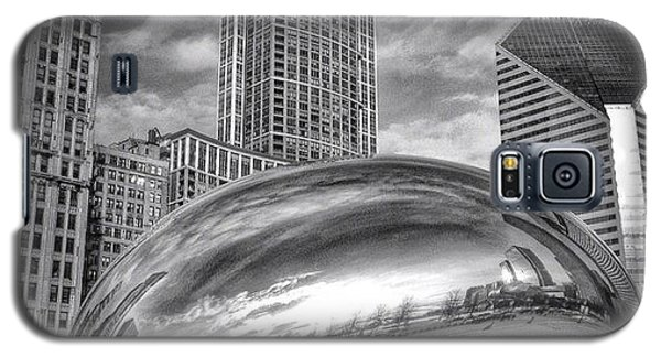 Architecture Galaxy S5 Case - Chicago Bean Cloud Gate Hdr Picture by Paul Velgos