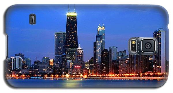Chicago Dusk Skyline Hancock Galaxy S5 Case