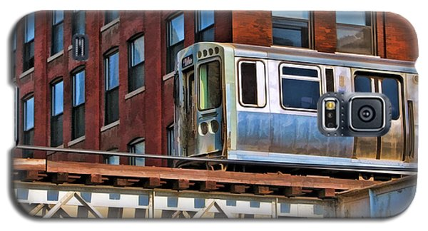 Chicago El And Warehouse Galaxy S5 Case