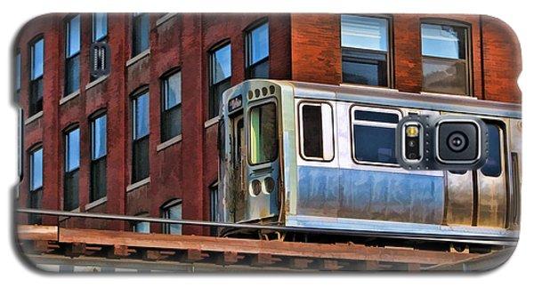 Chicago El And Warehouse Galaxy S5 Case