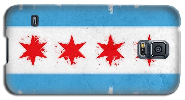 Chicago Flag Galaxy S5 Case by Mike Maher