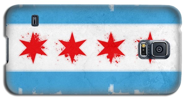 Chicago Flag Galaxy S5 Case