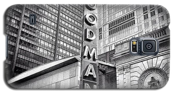 Chicago Goodman Theatre Sign Photo Galaxy S5 Case