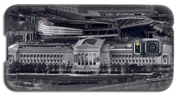 Chicago Icons Bw Galaxy S5 Case