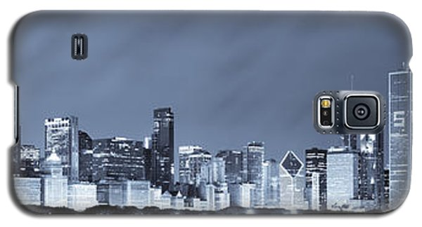 Chicago In Blue Galaxy S5 Case by Sebastian Musial
