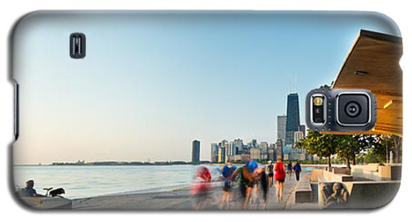 Chicago Lakefront Panorama Galaxy S5 Case