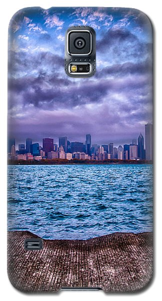 Chicago Lost In The Clouds Galaxy S5 Case by Michael  Bennett