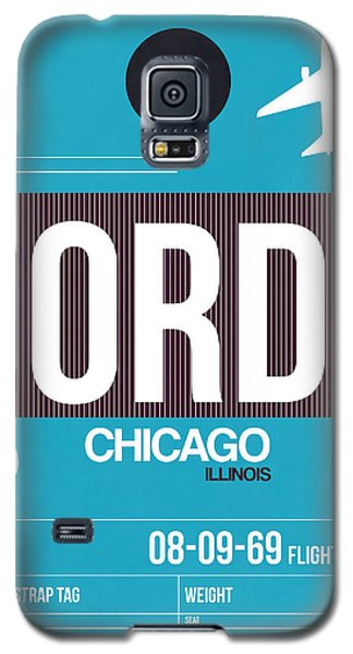 Chicago Luggage Poster 1 Galaxy S5 Case
