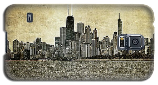 Chicago On Canvas Galaxy S5 Case