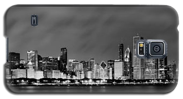 Chicago Panorama At Night Galaxy S5 Case by Sebastian Musial