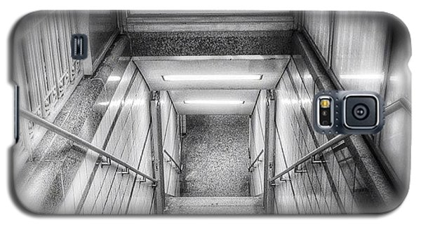 Color Galaxy S5 Case - Chicago Lake Cta Red Line Stairs by Paul Velgos