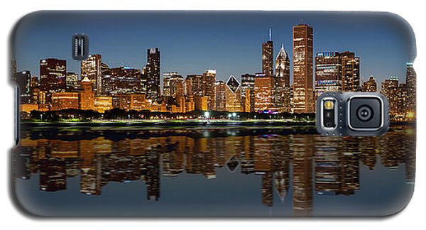 Chicago Reflected Galaxy S5 Case by Semmick Photo