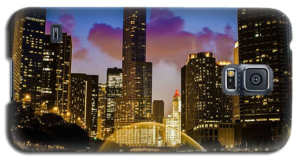 Chicago River Dusk Scene Galaxy S5 Case