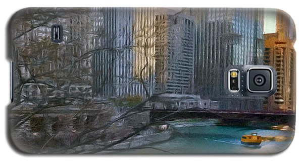 Chicago River Sunset Galaxy S5 Case