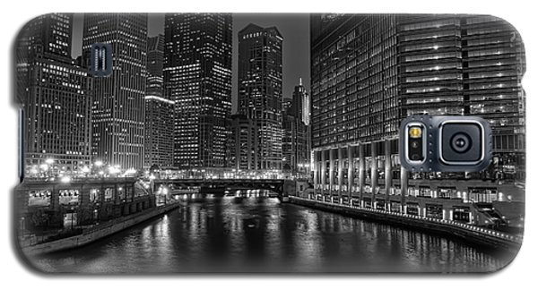 Chicago Riverwalk Galaxy S5 Case by Eddie Yerkish