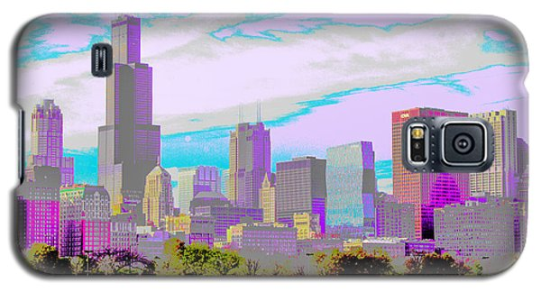 Chicago Skyline 2014 Galaxy S5 Case