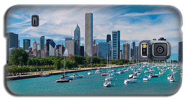 Chicago Skyline Daytime Panoramic Galaxy S5 Case