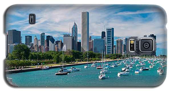 Chicago Skyline Daytime Panoramic Galaxy S5 Case