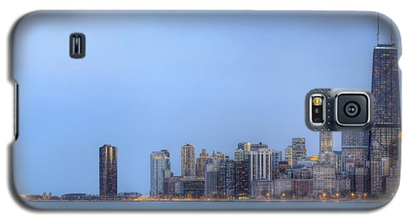 Chicago Skyline And Navy Pier Galaxy S5 Case by Shawn Everhart