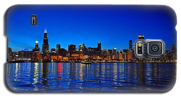 Chicago Skyline At Dusk Galaxy S5 Case