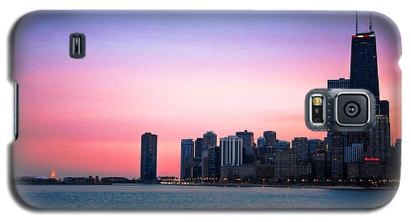 Chicago Skyline At Lake Michigan Galaxy S5 Case