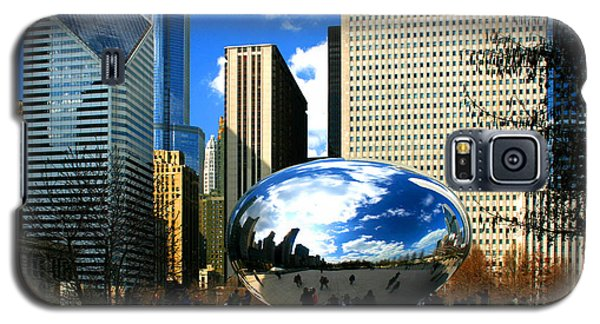 Chicago Skyline Bean Galaxy S5 Case