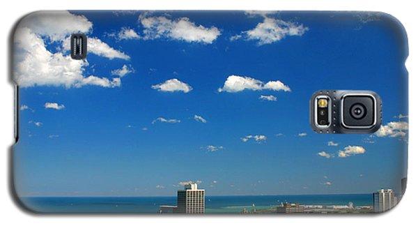 Chicago Skyline Big Sky Lake Galaxy S5 Case