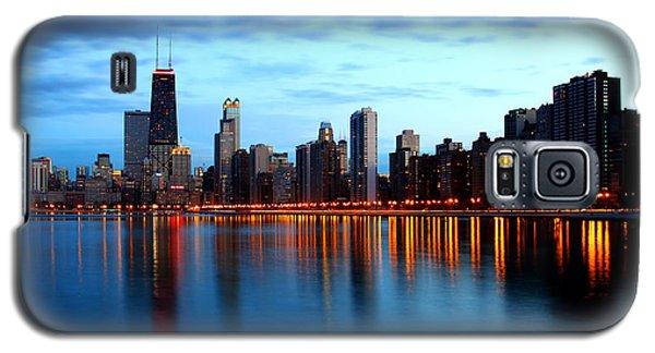 Chicago Skyline Dusk Galaxy S5 Case