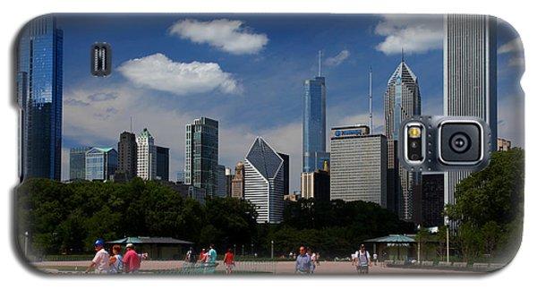 Chicago Skyline Grant Park Galaxy S5 Case