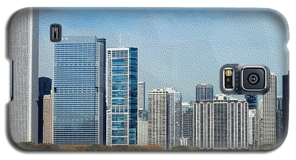 Chicago Skyline Galaxy S5 Case by Kathie Chicoine
