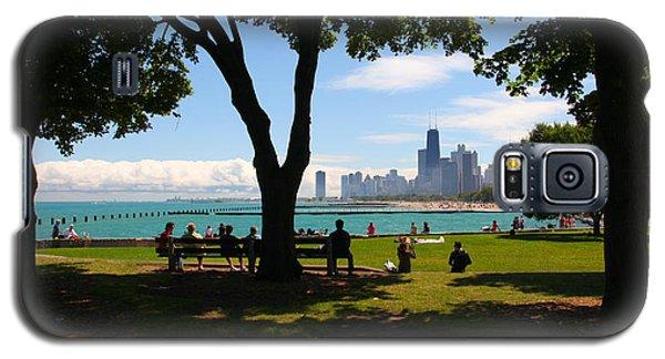 Chicago Skyline Lakefront Park Galaxy S5 Case
