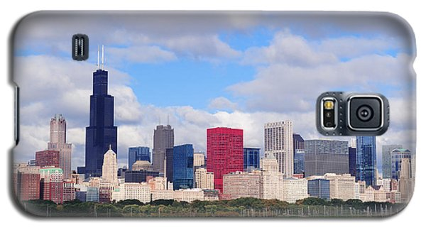 Chicago Skyline Over Lake Michigan Galaxy S5 Case
