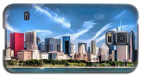 Chicago Skyline Panorama Galaxy S5 Case