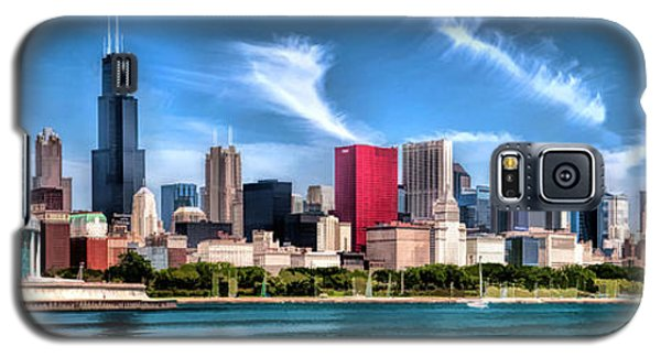 Chicago Skyline Panorama Galaxy S5 Case