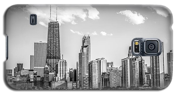 Chicago Skyline Picture In Black And White Galaxy S5 Case