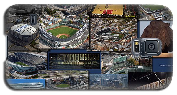 Chicago Sports Collage Galaxy S5 Case by Thomas Woolworth