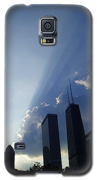 Chicago Sunset Galaxy S5 Case by Verana Stark