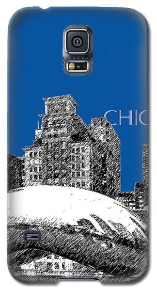 Chicago The Bean - Royal Blue Galaxy S5 Case