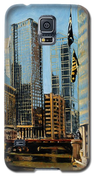 Chicago - The River From The East Galaxy S5 Case