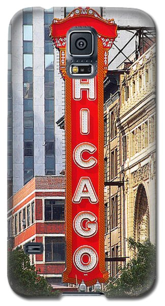 Chicago Theatre - A Classic Chicago Landmark Galaxy S5 Case by Christine Till